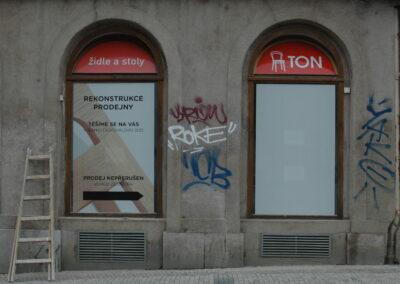 Odstraňování graffity, ochranné nátěry