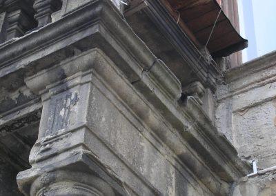 Původní stav architrávu